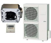 15.0 SEER Fujitsu single zone mini-split system